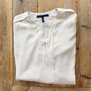 BCBG silk dress blouse